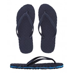 Blue Camo Side Wash (Black Footbed and Strap)