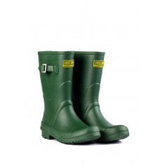 Ladies Khaki Short Wellington Boots