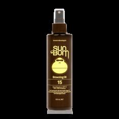 Premium SPF 15+ Sunscreen Tanning Oil - 250ml spray