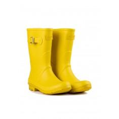 Ladies Yellow Short Wellington Boots